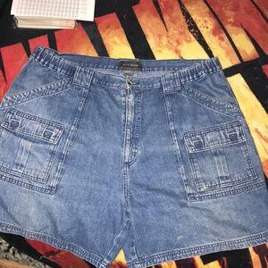 Croft & Barrow size 40 jean shorts 6 pockets 💕